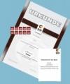 Prüfungsmarke + Urkunde 1.Kyu (braun) + DJB-Gutschein