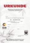 Kyu-Prüfungsurkunde für Nichtmitglieder für Unis und Volkshochschulen