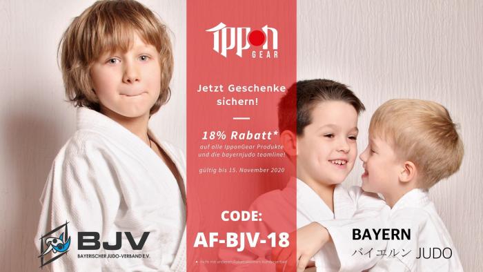 Rabattcode 18% Ippon Gear